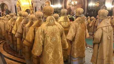 The rise of the Russian Orthodox Church