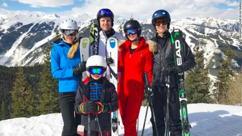 Kushner skiing as health care bill floundered