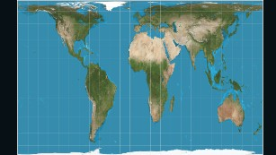 Why do western maps shrink africa cnn the peters projection maps areas in their actual sizes relative to each other but in gumiabroncs Images