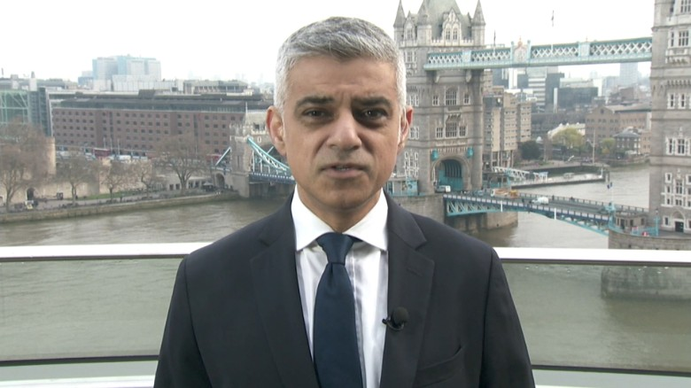 "Mayor to CNN: ""London is safest city in the world"""