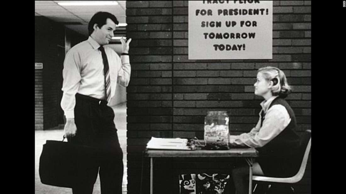 "<strong>""Election""</strong>: Matthew Broderick and Reese Witherspoon star in this 1999 dark comedy about a high school election. <strong>(Amazon Prime)</strong>"