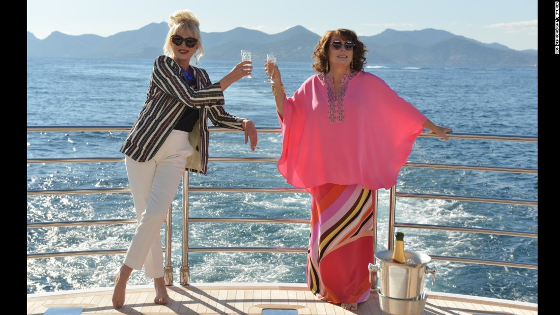 "<strong>""Absolutely Fabulous: The Movie""</strong> : Joanna Lumley and Jennifer Saunders reprise their roles as Patsy and Edwina in this comedy based on Saunders hit TV show. <strong>(HBO Now) </strong>"