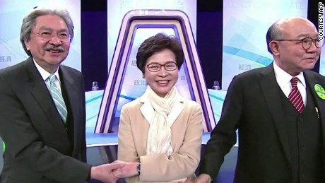 Joshua Wong on the Hong Kong Chief Executive race