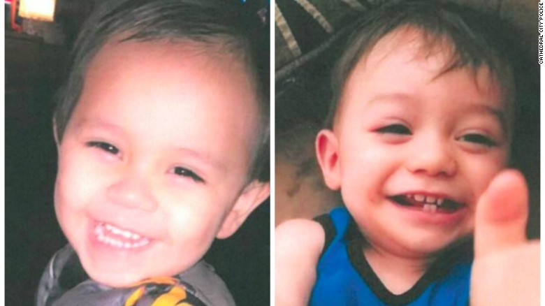Missing California toddlers found