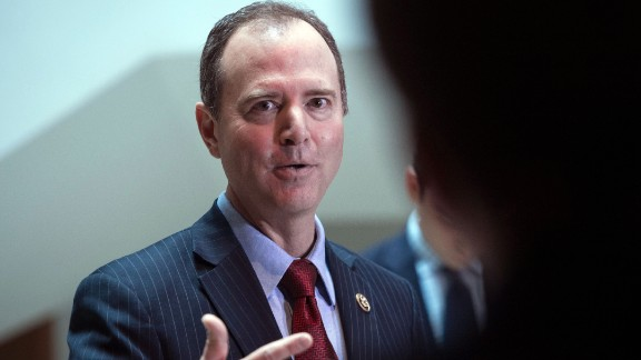 US Representative from California Adam Schiff, ranking member of the House Intelligence Committee, speaks to the press about the investigation of Russian meddling in the 2016 presidential election on Capitol Hill in Washington, DC, on March 24, 2017.
