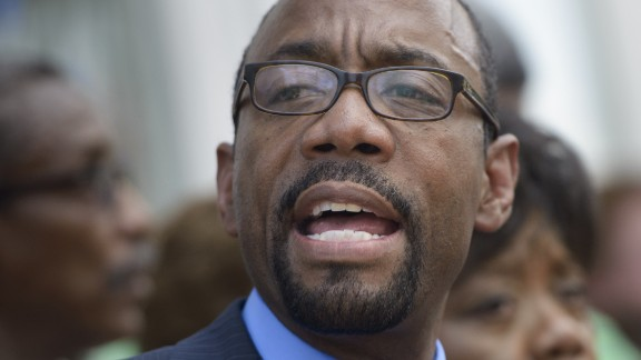 Cornell Brooks, President of the National Association for the Advancement of Colored People (NAACP)