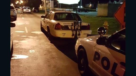 At least 14 people were shot at a nightclub in Cincinnati early Sunday.