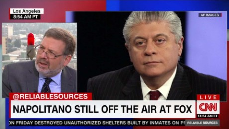 Reliable Sources Napolitano Still on Fox _00003023