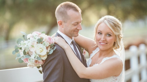 Melissa Dohme Hill married Cameron Hill in a March 4 ceremony in Florida.