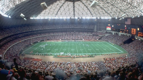 The Astrodome, former home of MLB