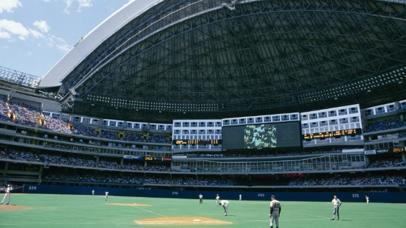 The first retractable-roof venue was the SkyDome (now called the Rogers Centre), which opened in 1989 for MLB