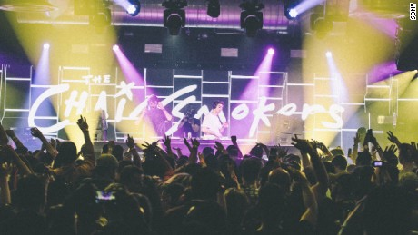 The Chainsmokers perform at the SXSW music festival in Austin, Texas.