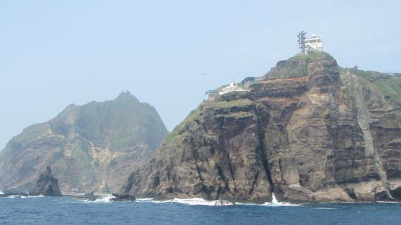The disputed Dokdo/Takeshima islands