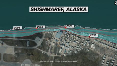 Shishmaref Alaska Tragedy Of A Village Built On Ice Cnn