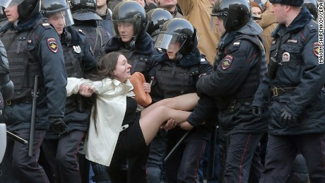 Young Russians are fed up, and the Kremlin has taken notice