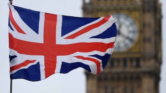A Union flag flies near the Elizabeth Tower, commonly referred to as Big Ben, at the Houses of Parliament in central London on March 29, 2017.Britain formally launched the process for leaving the European Union on Wednesday, a historic move that has split the country and thrown into question the future of the European project. Just days after the EU