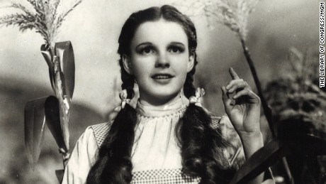 "Judy Garland in ""The Wizard of Oz,"" 1939."
