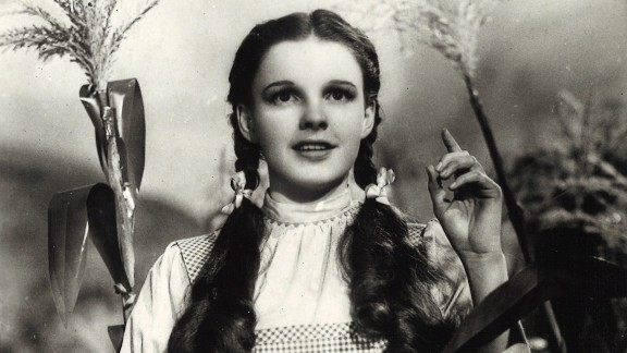 """Judy Garland in """"The Wizard of Oz,"""" 1939."""