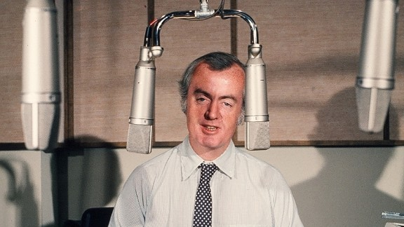 """Robert Conley, the first host of """"All Things Considered."""""""