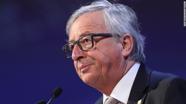 The EU's Juncker warns Trump over Brexit comments