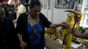 Why some Mexicans are drawn to Saint Death - CNN