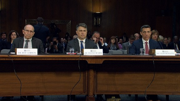 Dr. Roy Godson, Dr. Eugene Rumer, and Clinton Watts will give a statement and answer questions on the first day of the Senate Intelligence hearings on Trump Russia ties on March 30.