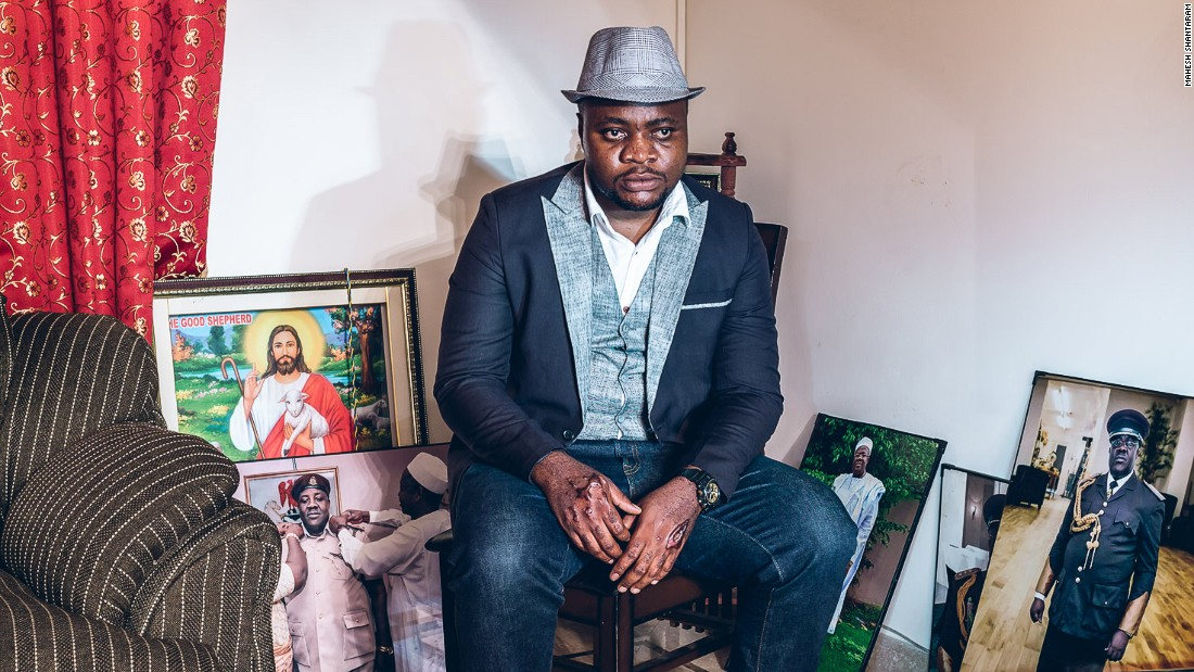 "In total he spent five months traveling across India taking photos of Africans, living in the country.  He amassed dozens of portraits and turned them into a photo series 'Racism: Africans in India.""<br /><br />Pictured: Samuel from Nigeria in Delhi<br /><br />Photo courtesy of: Mahesh Shantaram"