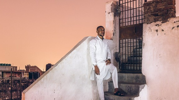 """""""By hearing them out I've heard so much about my own country,"""" Shantaram explained. """"It's not about Africans anymore, it's about India and something that's deeply wrong with our society.""""  Pictured: Lawrence from Nigeria in Bangolore  Photo courtesy of: Mahesh Shantaram"""