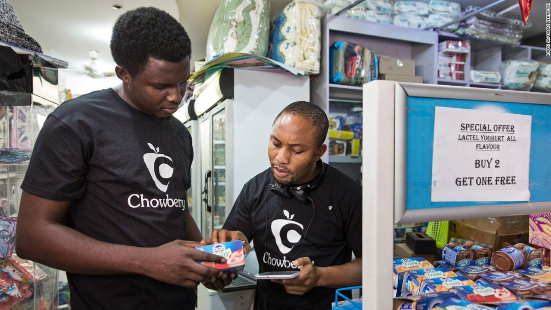 "Last year Chowberry ran a successful pilot scheme and is now functional in Lagos and Abuja, with 20 local retailers on board and three NGO's that work with orphanages and vulnerable people in communities where ""poverty is rife."""
