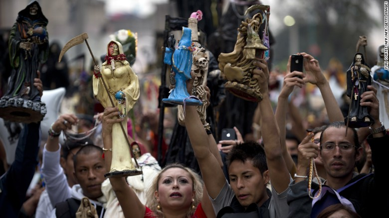 Santa Muerte devotees in the Mexico City neighborhood of Tepito  sc 1 st  CNN.com & Why some Mexicans are drawn to Saint Death - CNN