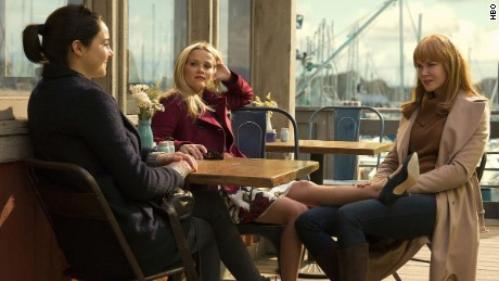 Shailene Woodley, Reese Witherspoon and Nicole Kidman star in 'Big Little Lies.'