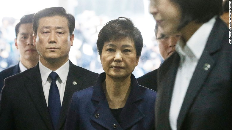 S.Korea's ousted President behind bars