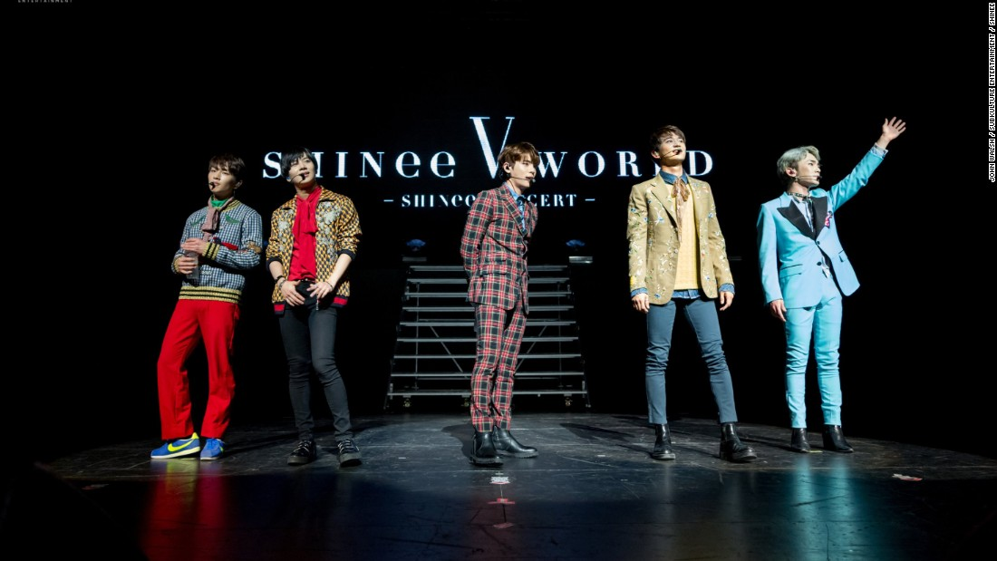 SHINee concert at the Verizon Theatre