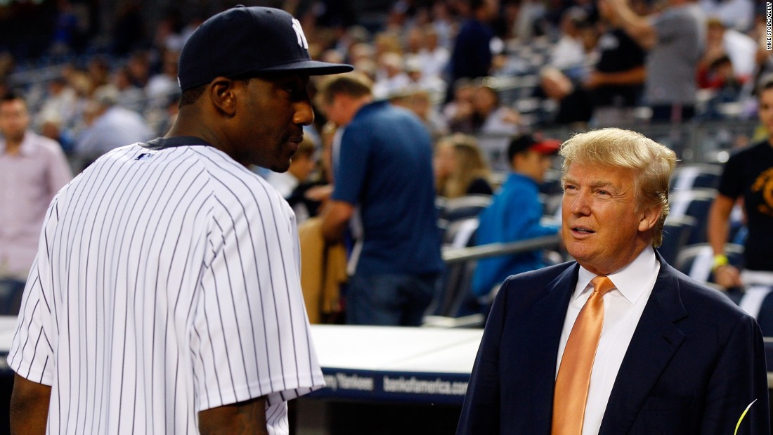 Trump says he'll throw out first pitch at New York Yankees game in August – CNN