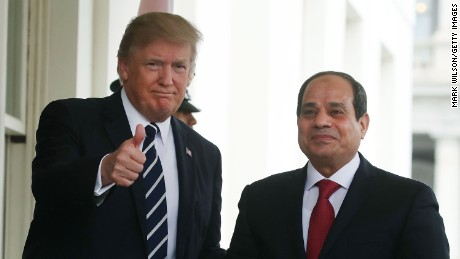 How Trump is squandering his power with China and Egypt