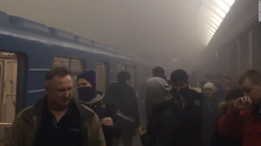 St  Petersburg metro explosion: At least 11 dead in Russia blast - CNN