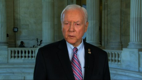 Sen. Orrin Hatch's spokesman said the senator thinks humor  can help draw attention to a serious bill.