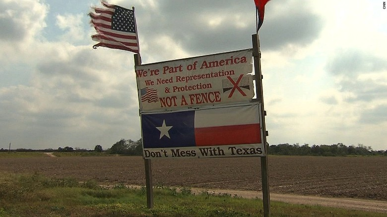 Image result for no to texas border wall