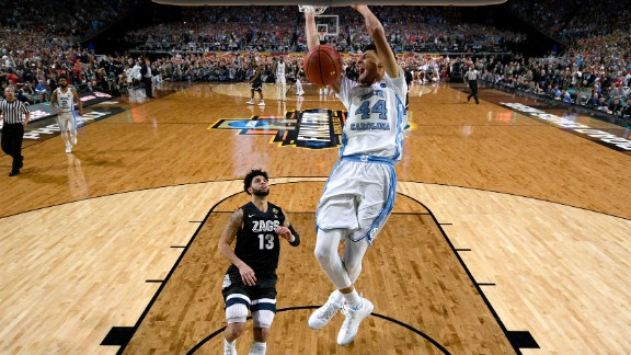 Justin Jackson puts the exclamation mark on the win with a late dunk in the closing seconds.
