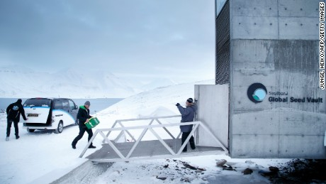 Like the nearby Global Seed Vault, the new bunker is located underground on a remote Arctic island.