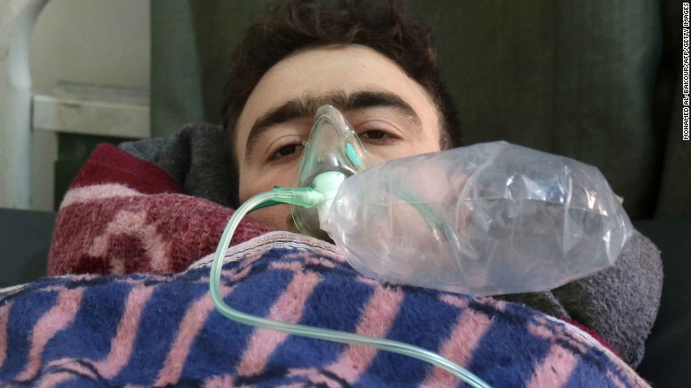 70 people dead from gas attack in Syria