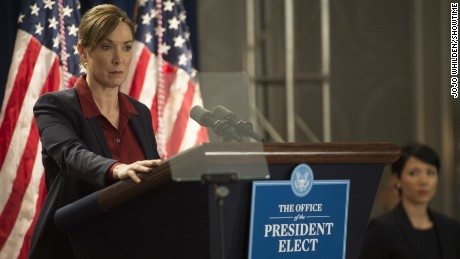 "Elizabeth Marvel plays Elizabeth Keane on Showtime's ""Homeland."""