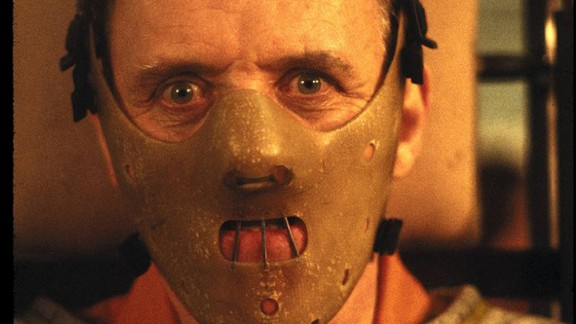 """The American Film Institute's top villains include some of the most evil characters to ever grace the silver screen, from a criminal mastermind with an appetite for human flesh to a jealous queen with magical powers.  Anthony Hopkins plays Hannibal Lecter, a cannibalistic mastermind, in """"The Silence of the Lambs."""""""