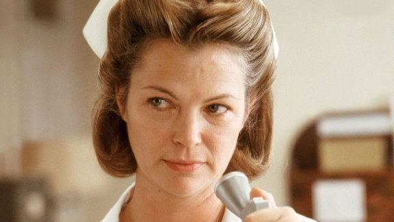 """Louise Fletcher won an Oscar for her portrayal of the cruel Nurse Ratched in """"One Flew Over the Cuckoo's Nest."""""""