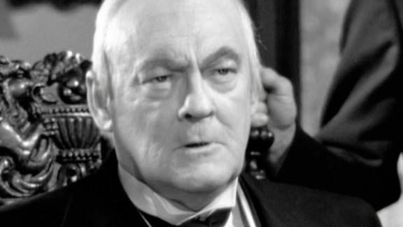 """Lionel Barrymore famously played a balding, wheelchair-bound businessman, Mr. Potter, in """"It's a Wonderful Life."""""""