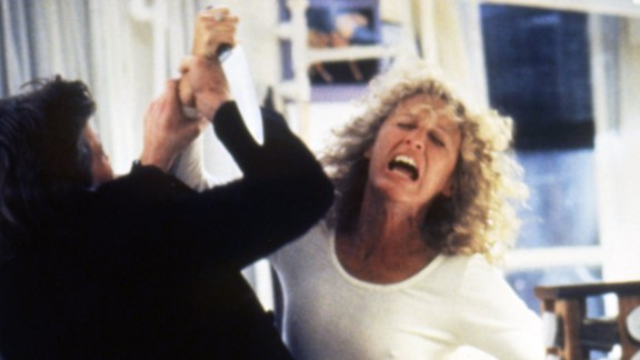 """Glenn Close was nominated for an Oscar for her role as Alex Forrest, who develops a """"Fatal Attraction"""" to a married man with whom she has an affair."""