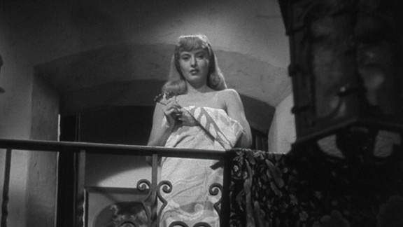 """Barbara Stanwyck plays the manipulative Phyllis Dietrichson in Billy Wilder's """"Double Indemnity,"""" in which she plots to have her husband killed for the insurance money."""