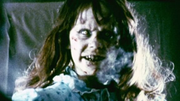 """Regan MacNeil becomes possessed with a demonic spirit in """"The Exorcist."""" Linda Blair was nominated for an Oscar for best actress in a supporting role for her head-spinning performance."""