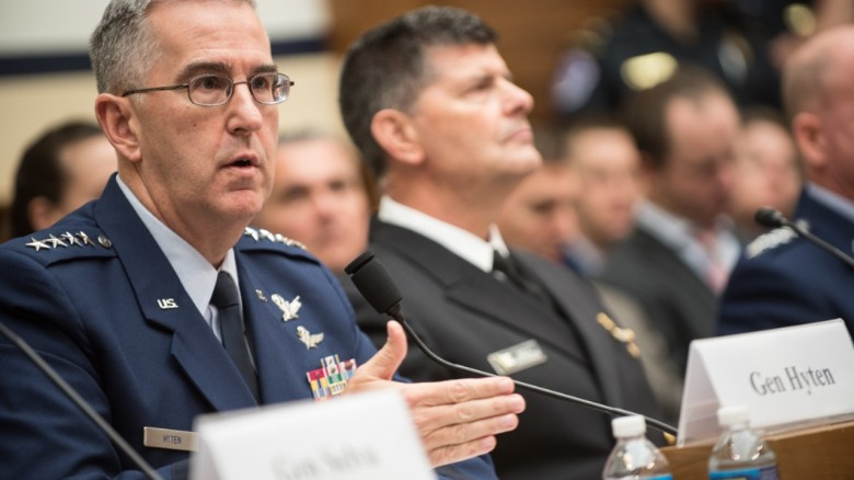 Top general: I'd resist 'illegal' nuke strike