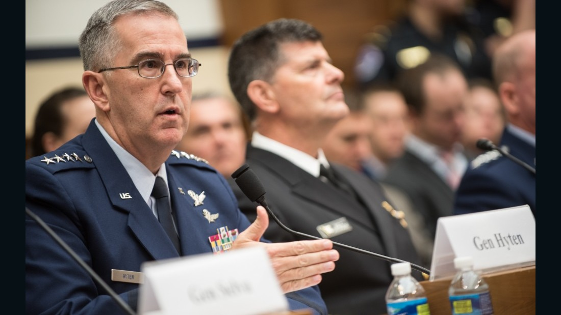 Democrats raise concerns about Air Force probe of top general